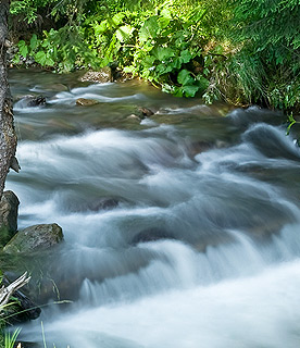 Zdroj vody, filtrace